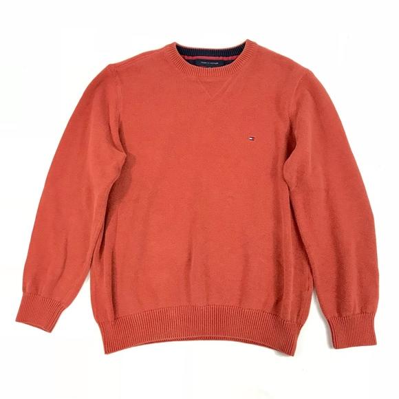 online hier das beste 2019 authentisch Tommy Hilfiger Crew Neck Knit Pullover Sweater